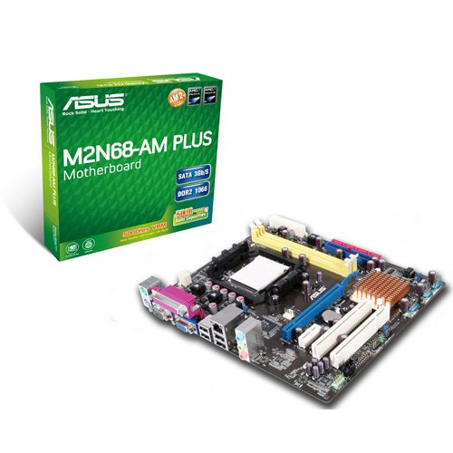 ASUS Socket AM2+/GeForce 7025/DDR2-1066/A&V&GbE/Micro ATX Motherboard M2N68-AM Plus