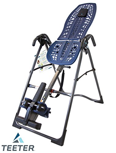 Teeter IA1009 InvertAlign 900 Inversion Table, Blue/Black