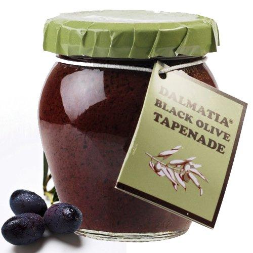 Black Olive Spread - Tapenade - 1 jar - 6.7 oz by Dalmatia