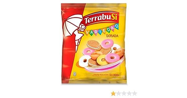 Amazon.com: Terrabusi Galletitas / Assorted Cookies (Variedad Dorada, 300 gr.)