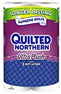 Quilted Northern Ultra Plush, Supreme Rolls Toilet Paper
