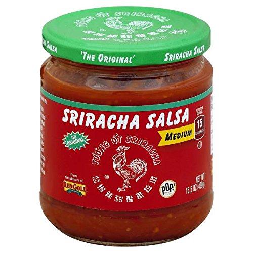 Huy Fong Sriracha Salsa Medium 15 oz (Pack of 3)