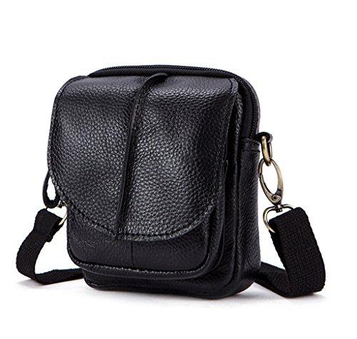 Capacity Design Briefcases Messenger Large Men's Shoulder Sucastle Vintage 2 Bags Leather 1 axzUWRwT