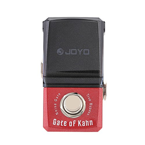 ammoon JOYO JF-324 Gate of Kahn Noise Gate Mini Electric Bass Guitar Effect Pedal with Knob Guard Reduce Extra Noise