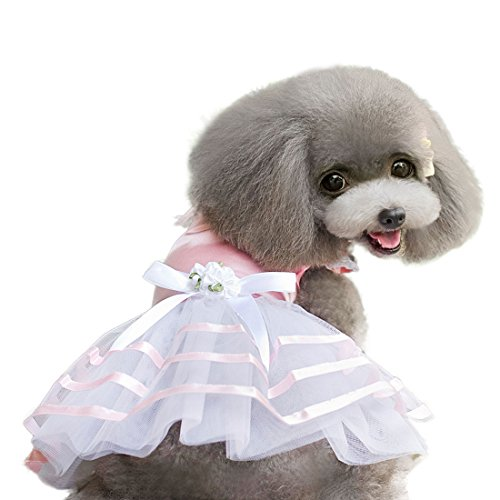 uxcellr-tulle-lace-skirts-small-dog-pet-bowknot-dress-skirt-clothes-summer-apparel-costume-pink-xs