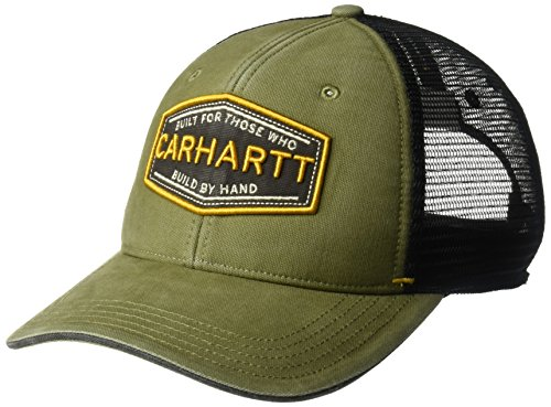 Carhartt Men's Silvermine Cap, Army Green, OFA (Fight Military Hat)