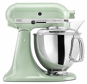 kitchenaid ksm150pspt artisan series 5 quart mixer pistachio amazon