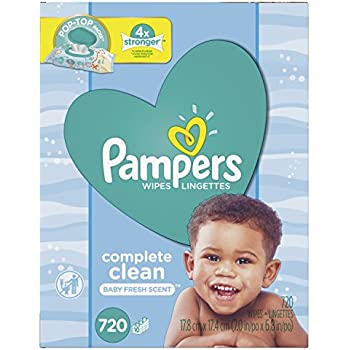 Amazon Com Pampers Baby Wipes Complete Clean Scented 10x