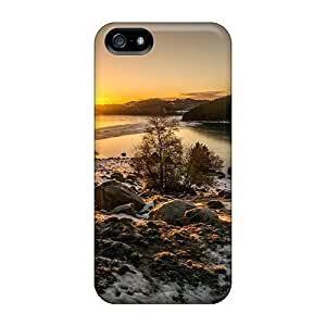 Awesome LastMemory Defender Tpu Hard Case Cover For Iphone 5/5s- Outsting Sunset