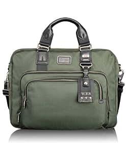 Tumi Luggage Alpha Bravo Yuma Slim Brief, Spruce, One Size