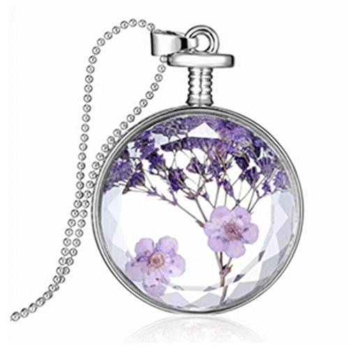 TraveT Lavender Specimens Necklace Pendant