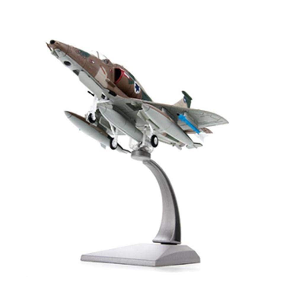 For Collection A4M 1/72 Scale Diecast Airplane Model A-4 Skyhawk Fighter Aircraft Plane Toys for Fans Children Gifts