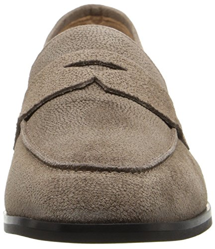 Sharon Taupe Loafer On Slip Women's Aquatalia Pebbled Suede BFAc1y