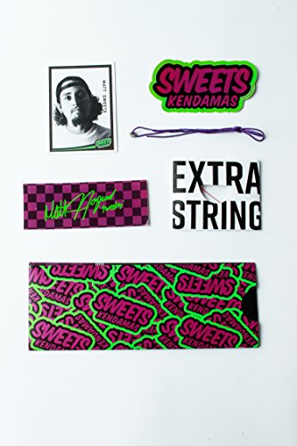 Sweets Kendamas Prime Pro Model Kendama - Sticky Paint, Hardwood Maple, Extra String Accessory Bundle (Matt Sweets Jorgenson) by Sweets Kendamas (Image #5)