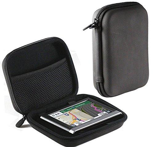 Navitech Schwarz Anti Blendbilschirm Case Cover Hülle für das Tomtom Start 60 & Start 60 Europe