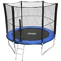 Best for Sports Veiligheidsnet voor trampoline, 6-8 stangensysteem, voor trampolines met een diameter van 2,44, 3,05 of…