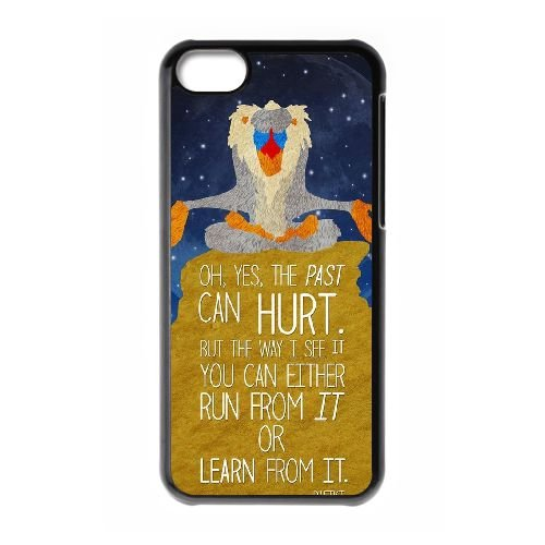 Disney Le Roi Lion Caractère Rafiki VY75FQ9 coque iPhone 5c cellulaire cas de téléphone C1SX3G2YS Coque