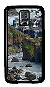 Samsung Galaxy S5 Amazing Iceland PC Custom Samsung Galaxy S5 Case Cover Black by icecream design