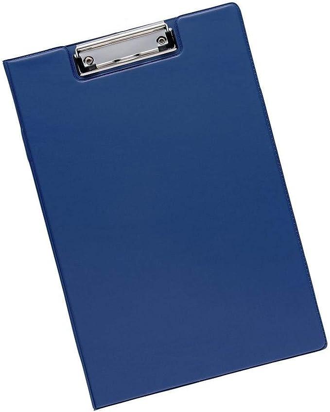 AURSTORE BASA Porte-Bloc /à Rabat A4 Papier,A4 Trieur Organiseur Portfolio Planchettes Porte-formulaire Bleu