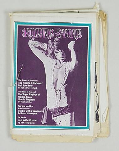 Rolling Stone Magazine No.112 Mick Jagger 1972 July 6 - Mick Jagger Band