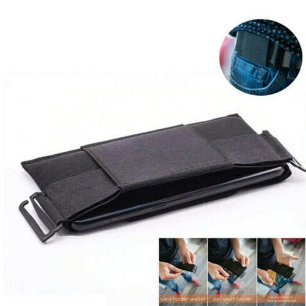Beige Gogdog Minimalist Invisible Wallet Mini Pouch G/ürteltasche para Schl/üsselkarteninhaber Sports Outdoor Medium