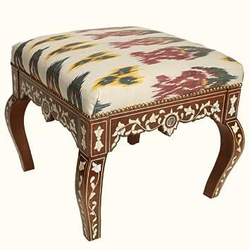 Super Amazon Com Syrian Ottoman Tulips Ikat Baby Lamtechconsult Wood Chair Design Ideas Lamtechconsultcom