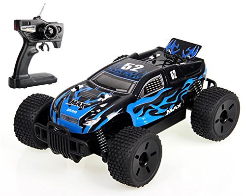 Price comparison product image Max Super Power Cross-Country Truggy RC 1 / 16 High Speed Racing Car RTR 4WD Off-Road Monster Truck Big-wheel Buggy by POCO DIVO