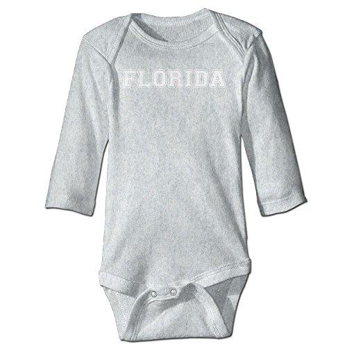 Richard Unisex Newborn Bodysuits Florida Girls Babysuit Long Sleeve Jumpsuit Sunsuit Outfit 18 Months Ash