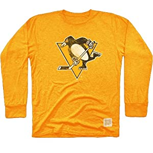 NHL Men's Long Sleeve Tri-Blend Tee