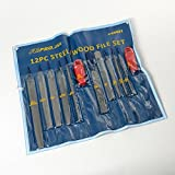 24 Pc ATE Tools Professional Steel Wood File Set Assorted Hobby 2 12 Pc Sets