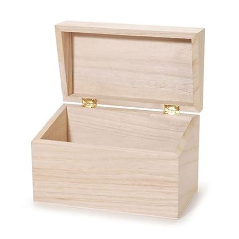 Amazon.com: Caja de madera para recetas.: Home & Kitchen