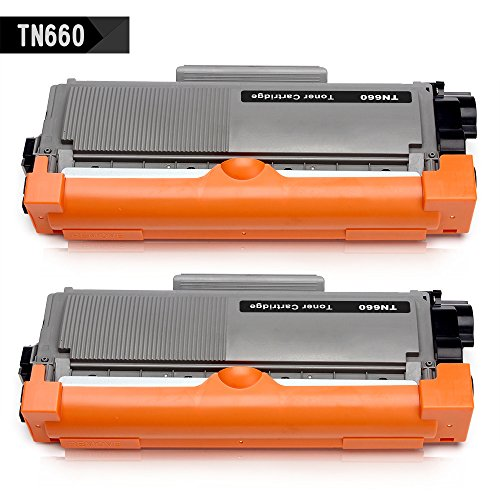 IKONG 2-BLACK Compatible Toner Cartridge Replacement for Brother TN660 TN630 works with Brother DCP-L2540DW DCP-L2520DW,Brother HL-2340DW HL-2380DW HL-L2300D HL-L2320D,Brother MFC-L2700DW MFC-2740DW