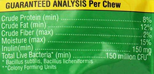 Probios Horse Soft Chews, Apple Flavor, Net Weight 1.32 lbs(600 Grams)