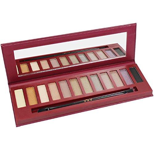 Joly Nk2 fard à paupières maquillage définit 12 Color City Style naturel Beiges sables Bronzes Taupe