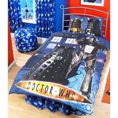 Kinder Bettwäsche Doctor Who Kissen Und Deckenbezug Einzelbett