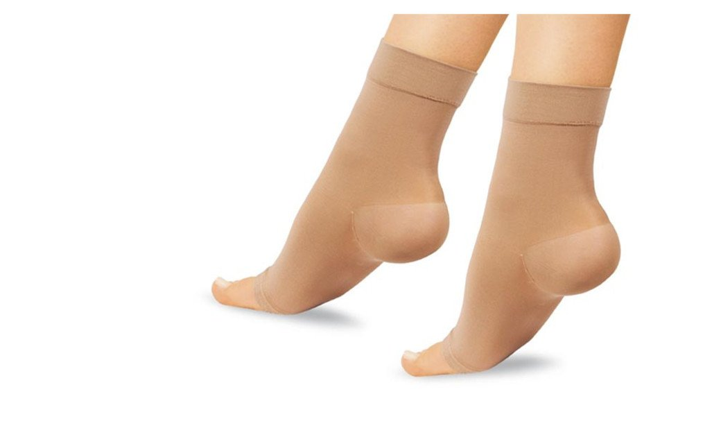 PU Health Comfortable 10 Point Compression Arch Ankle Gel Sleeve