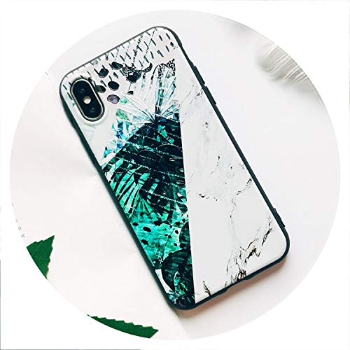 Soft TPU Phone Case for iPhone 6S Case Silicone Black Simple Scrub Back Cover for iPhone 7 6 6S 7Plus XS Max X 8 Case,20,for iPhone 8 ()