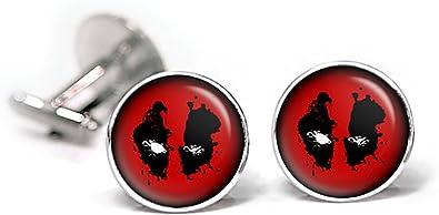 Deadpool gemelos gemelos, corbata, corbata Tack de los Vengadores ...