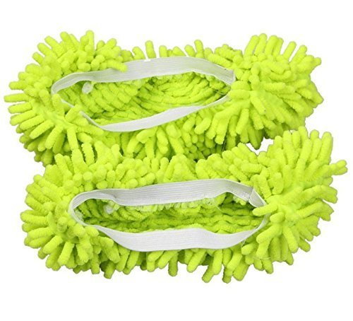 Generic Dusting Cleaning Slipper Housekeeper Green