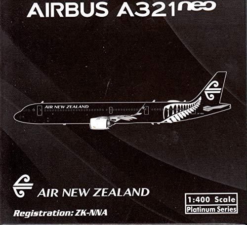 (Phoenix Model PHX11501 1:400 Air New Zealand Airbus A321neo Reg #ZK-NNA (pre-Painted/pre-Built))