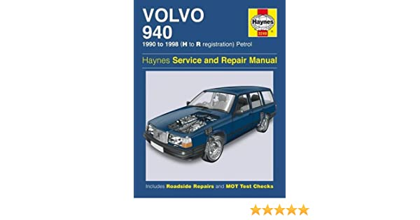 1991 volvo 940 owners manua