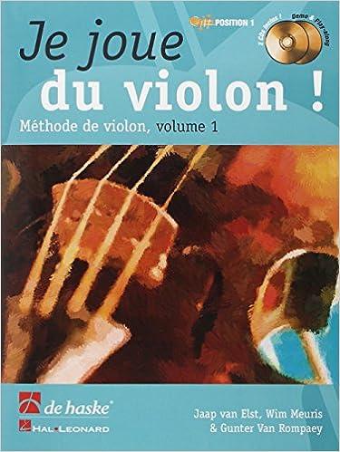 Téléchargement Je joue du violon vol 1 (+2 CDs) - Violon - De Haske pdf, epub ebook