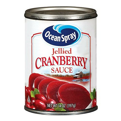 Ocean Spray Jellied Cranberry Sauce, 14.0 OZ (Pack of 2)