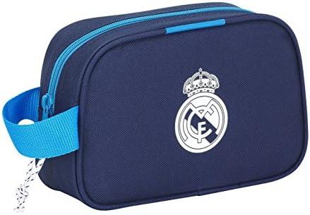 2fd1a0159 Safta 311278 Real Madrid 3 Neceser, Color Azul Marino: Amazon.es ...