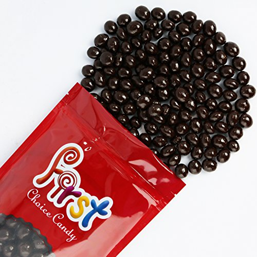 First Choice Candy Dark Chocolate Covered Espresso Beans, 1 lb