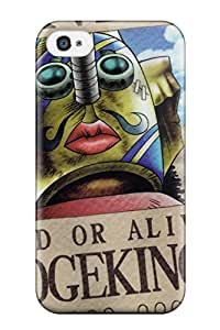 Awesome Design Sogeking Wanted Poster One Piece Anime One Piece Hard Case Cover For Iphone 4/4s