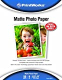 Printworks Matte 8-1/2 x 11-Inch Photo Paper 50 Sheets (00471)