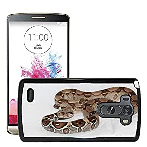 Super Stella Slim PC Hard Case Cover Skin Armor Shell Protection // M00144853 Emperor Snake Red Tailed Boa Boa // LG G3 VS985