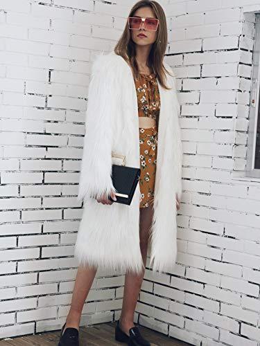 Fausse Femmes Rcdxing Rcdxing Fourrure Outwear Outwear pfqwC0