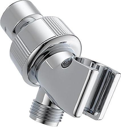 Delta Faucet U3401 Pk Adjustable Shower Arm Mount Chrome Shower